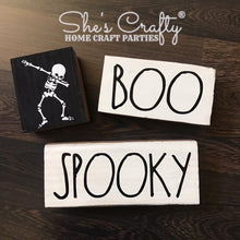 Dabbing Skeleton, Boo & Spooky Blocks Trio Kit