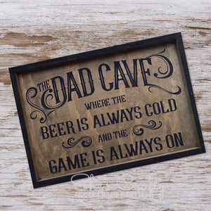 Dad Cave Customizable Kit
