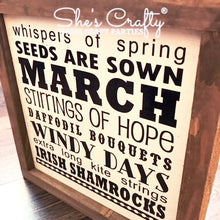 Monthly Mini March Subway Art Kit Freebie