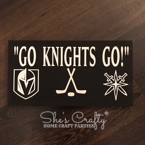 VGK Inspired Go Knights Go