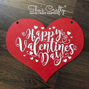 Happy Valentines Day Heart Shape Kit