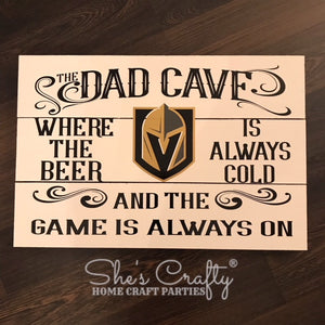 VGK Inspired Dad Cave Customizable Kit