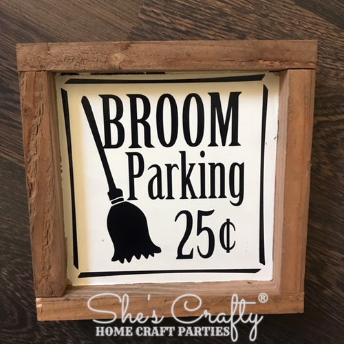 Broom Parking Kit