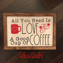 All you Need is Love & Coffee Kit