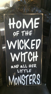 Home of the Wicked Witch Kit