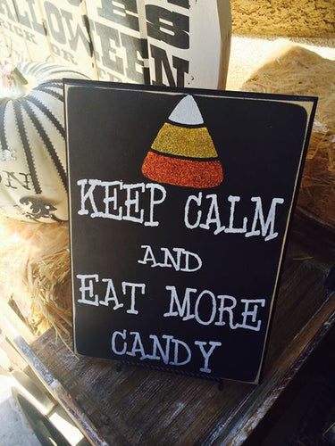 Keep Calm and Eat More Candy Kit.