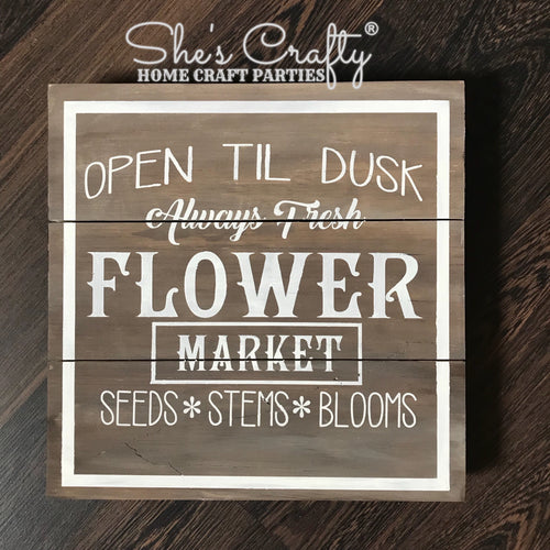 Flower Market Kit