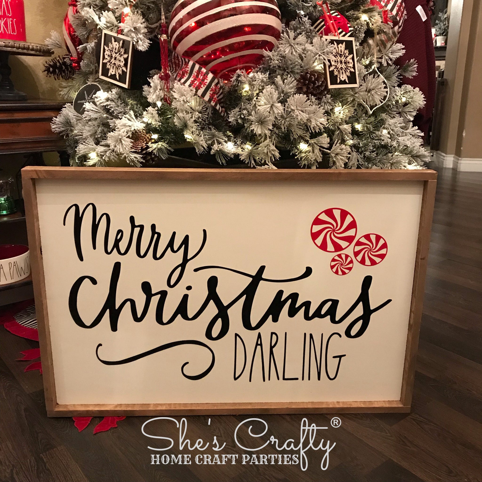 Merry Christmas Darling.Merry Christmas Darling Kit She S Crafty Home Craft Parties