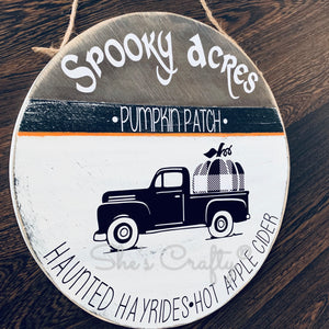 Spooky Acres Pumpkin Patch Kit