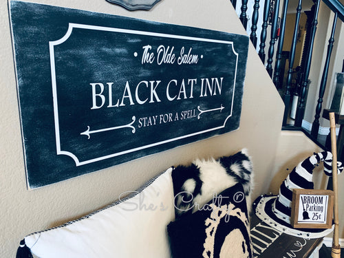 Black Cat Inn Sign