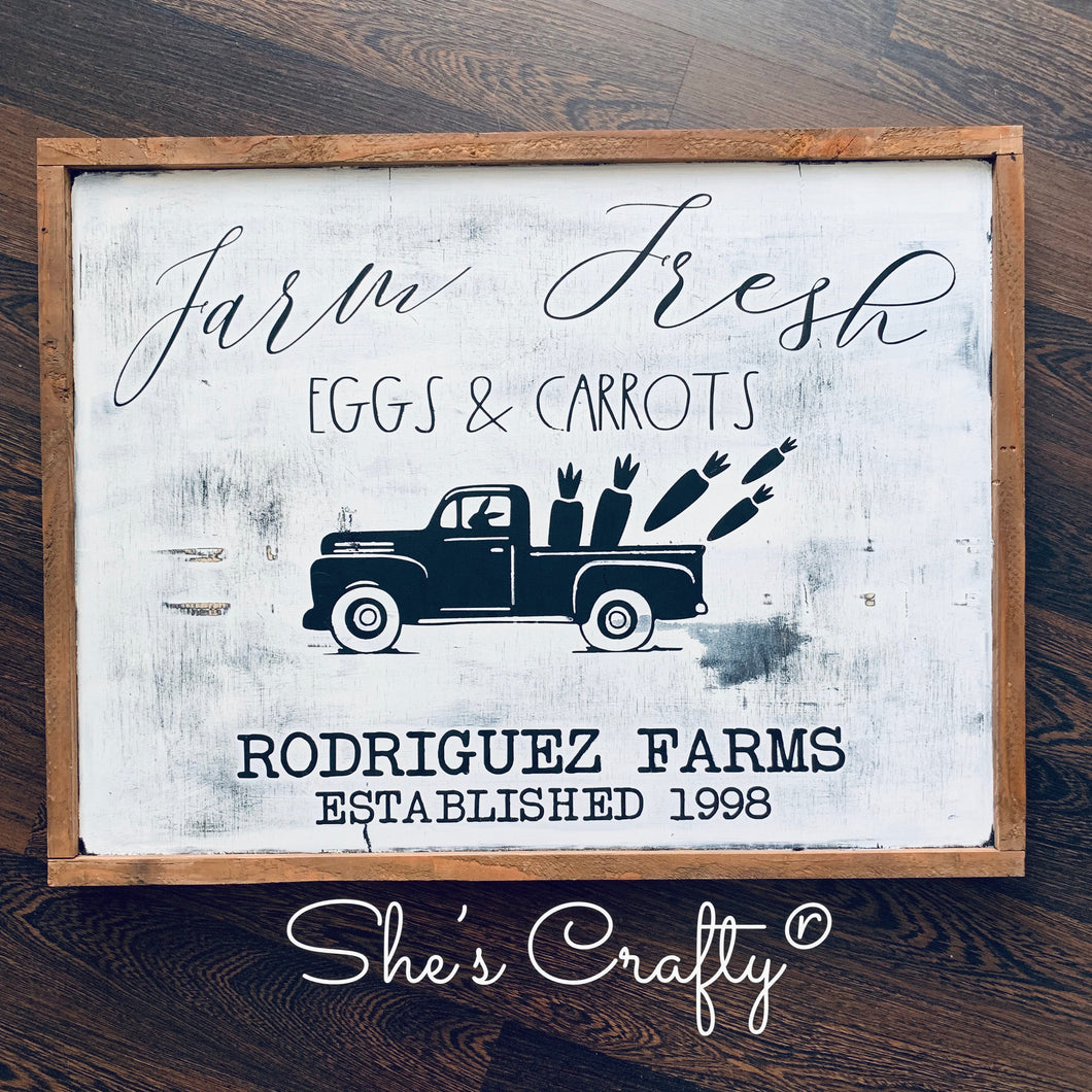 Farm Fresh Eggs & Carrots Kit