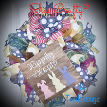 2020 Easter Sign & Deco Mesh Wreath Kit