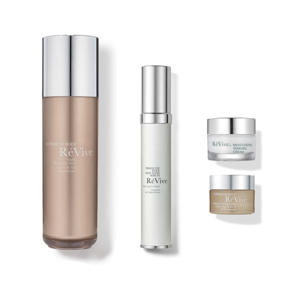 Perfectif with Nightly Renewing Serum / Face and Body Serum Duo