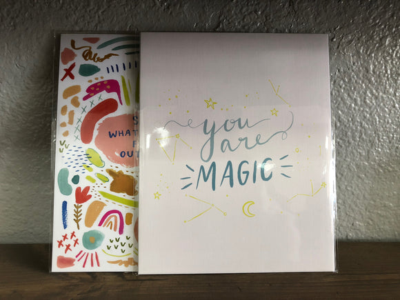 You Are Magic Print - Terra Cottage