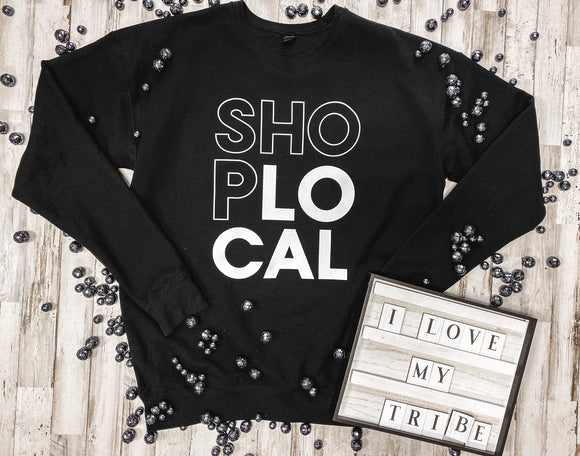 Shop Local Sweatshirt