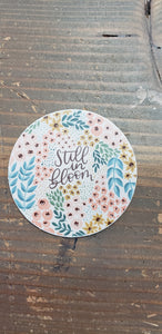 Floral Still In Bloom Sticker