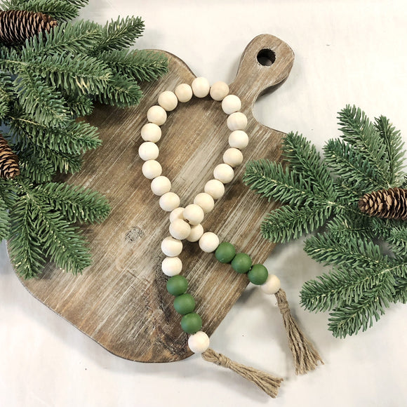 Pine Bead Garland - Terra Cottage