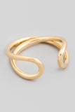 Gold Delicate Geometric Wrap Ring