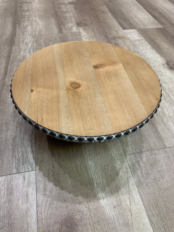 Wooden Cake Stand - Small