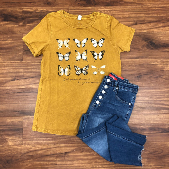 Butterfly Dream Tee - Terra Cottage