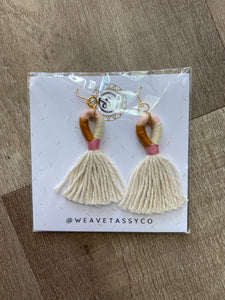 Tassel Earrings - Terra Cottage