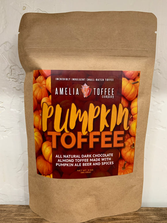 Small Batch Toffee - Pumpkin Flavor