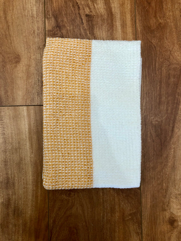 Color Block Tea Towel - 3 Colors