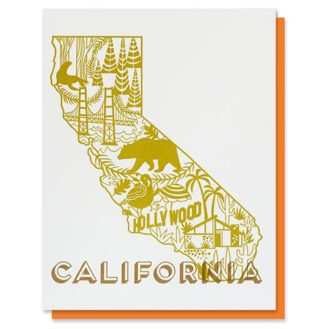California State Card - Terra Cottage