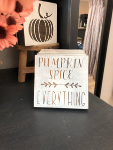 Pumpkin Spice Mini Sign - Terra Cottage