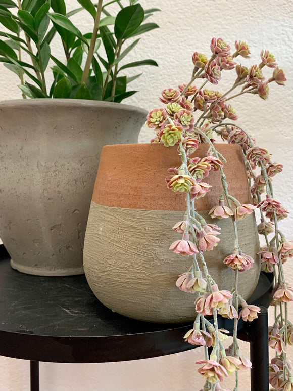 Terra Cotta Dipped Statement Planter