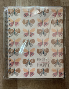 Choose Happy Spiral Notebook