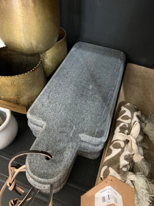 Black Marble Serving Tray