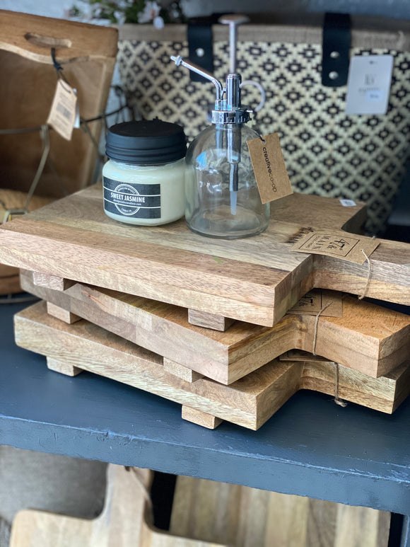 Small Footed Cutting Board - Terra Cottage