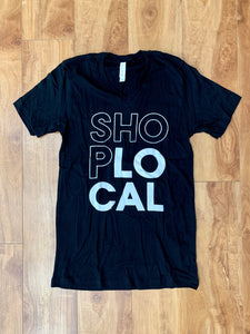 Shop Local V-Neck Tee