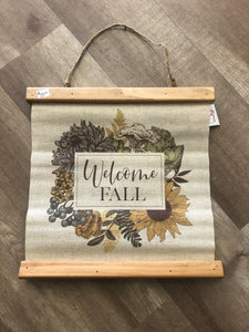 Welcome Fall Tapestry - Terra Cottage