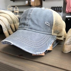 Light Blue Trucker Hat - Terra Cottage