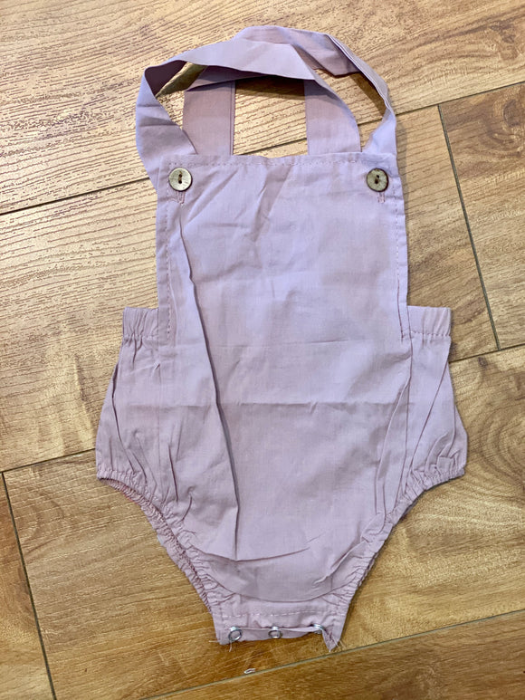 Pastel Overall Romper - Terra Cottage