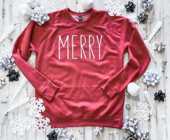 Merry Sweatshirt - Terra Cottage
