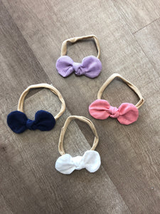 Baby headbands set of 4 - Terra Cottage
