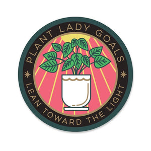 Plant Lady Goals Sticker - Terra Cottage