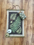 Fern Canvas Scroll Wall Decor
