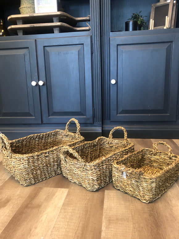 Rectangle Basket - Terra Cottage
