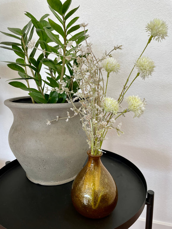 White Thistle Floral Stem Bunch