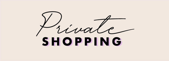 Sunday Private Shopping Appointments - Terra Cottage