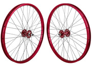 SE RACING 24 inch WHEEL SET Red