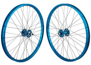 SE RACING 24 inch WHEEL SET Blue