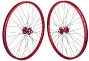 SE Racing 29 Inch Wheel Set Red