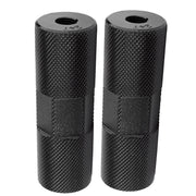 ALLOY THREAD ON FREESTYLE BMX PEGS Black/24t - 26t