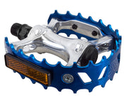 SE BIKES BEAR TRAP PEDALS Blue - 9/16
