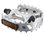 SE BIKES BEAR TRAP PEDALS Polished - 9/16